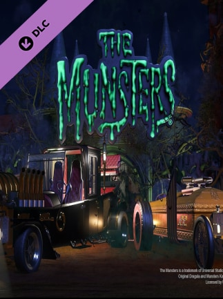 Planet Coaster - The Munsters Munster Koach Construction Kit Steam Gift EUROPE