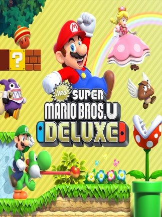 New Super Mario Bros U Deluxe Nintendo Switch Europe
