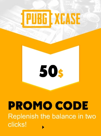 PubgXcase Gift Card 50 USD Code