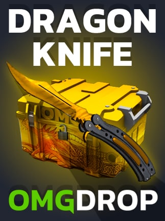 Counter-Strike: Global Offensive DRAGON KNIFE CASE BY OMGDROP.COM GLOBAL PC Key OMGDROP.COM