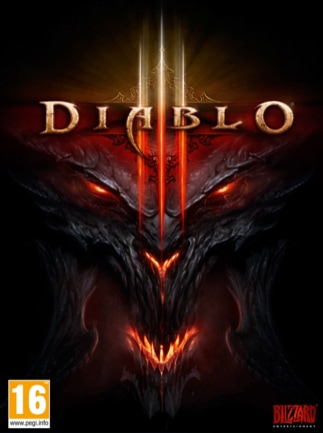 Diablo 3 Blizzard Key PC EUROPE - box