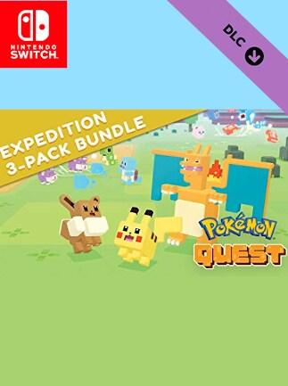 Pokémon Quest Expedition 3-Pack Bundle (DLC) - Nintendo Switch - Key EUROPE