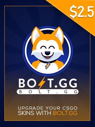 Bolt.GG 2.50 USD Code