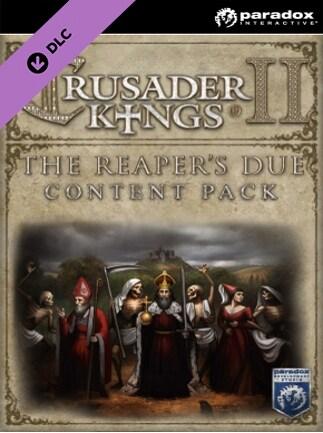 Crusader Kings II: The Reaper's Due Content Pack Steam Key GLOBAL