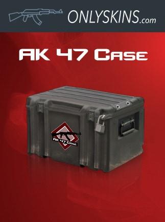 Counter-Strike: Global Offensive RANDOM AK47 SKIN Onlyskins.com Code GLOBAL - box