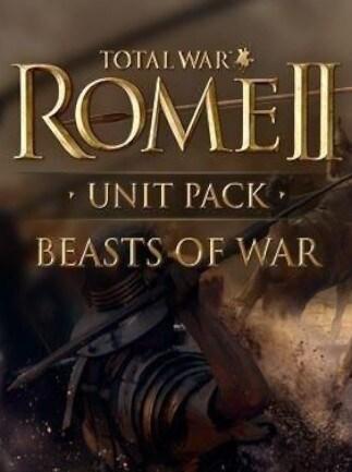 Total War: ROME II - Beasts of War Unit Pack Steam Key GLOBAL