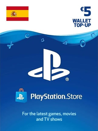 PlayStation Network Gift Card 5 EUR - PSN Key - SPAIN
