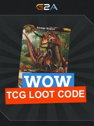 World of Warcraft Savage Raptor TCG Loot Code - G2A COM