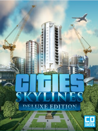Cities: Skylines Deluxe Edition Steam Key GLOBAL - box