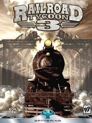 Railroad Tycoon 3 Steam Key GLOBAL - box