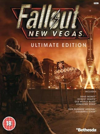 Fallout: New Vegas Ultimate Edition Steam Key GLOBAL - box
