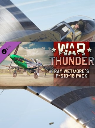 War Thunder - Ray Wetmore`s P-51D-10 Pack Steam Gift GLOBAL - G2A.COM