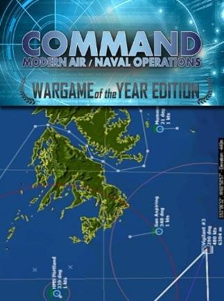 Command: Modern Air / Naval Operations WOTY Steam Key GLOBAL - box