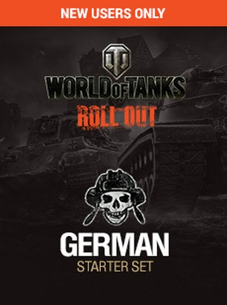 WORLD OF TANKS: GERMAN STARTER KIT, ACTIVATION 78% OFF NEW USER ONLY