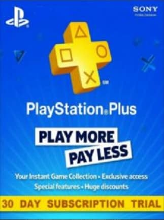 PlayStation Plus Trial 30 Days (UK) Code - Buy cheaper on G2A COM