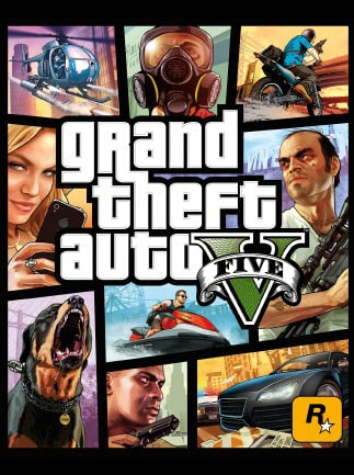 Grand Theft Auto V Steam Key GLOBAL - box
