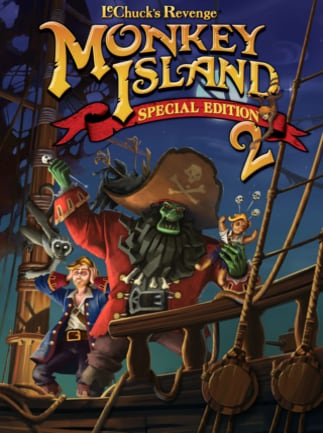 Monkey Island 2 Special Edition: LeChuck's Revenge Steam Key GLOBAL