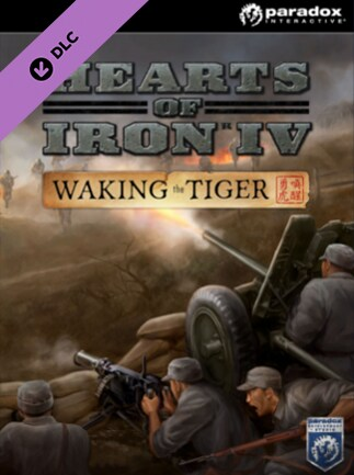 f0db4edeef3 Hearts of Iron IV: Waking the Tiger Steam Key GLOBAL - box