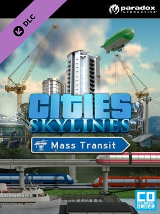 Cities: Skylines - Mass Transit Key Steam GLOBAL - box