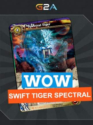 World of Warcraft Swift Spectral Tiger Mount Code - G2A COM