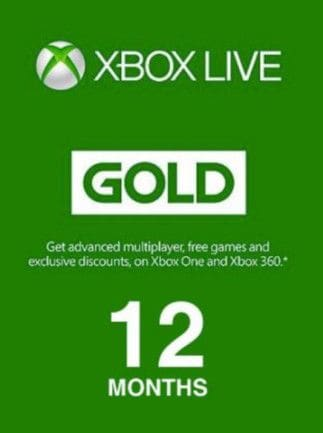 Xbox Live GOLD Subscription Card 12 Months - Xbox Live Key - TURKEY