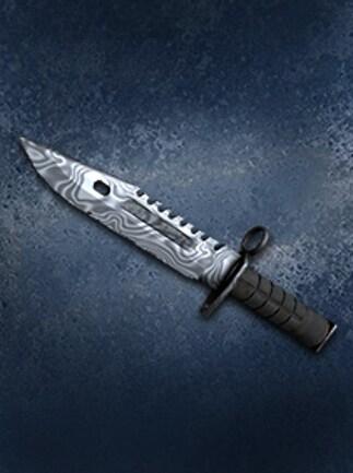 Counter-Strike: Global Offensive M9 Bayonet Damascus Steel