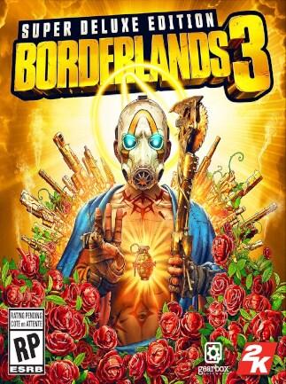 Borderlands 3 Super Deluxe Edition Epic Games Key EUROPE - G2A COM