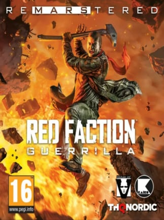 Red Faction Guerrilla Re-Mars-tered Steam Key GLOBAL - okładka