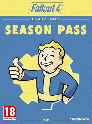 Fallout 4 Season Pass Key PSN PS4 NORTH AMERICA