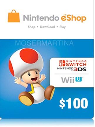 Nintendo eShop Card 100 USD Nintendo NORTH AMERICA - G2A COM