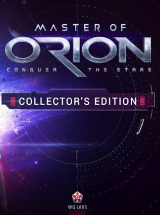 Master of Orion Collector's Edition Steam Key GLOBAL - box