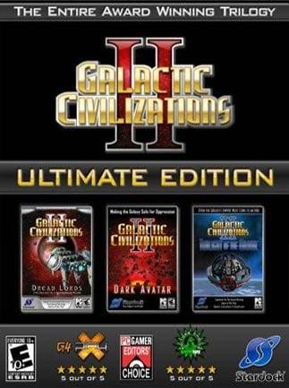 Galactic Civilizations II: Ultimate Edition Steam Key GLOBAL