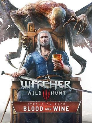 The Witcher 3: Wild Hunt - Blood and Wine Key Steam GLOBAL - caja