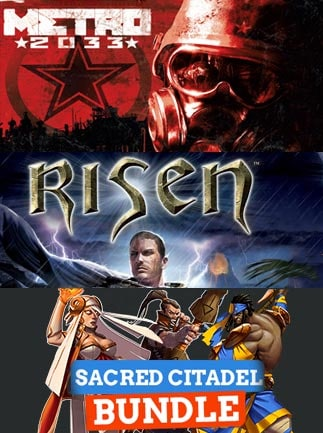 Metro 2033 + Risen + Sacred Citadel Bundle Steam Key GLOBAL - G2A COM