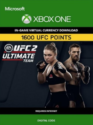 EA SPORTS UFC 2 Currency 1600 UFC Points Xbox One XBOX LIVE Key UNITED STATES