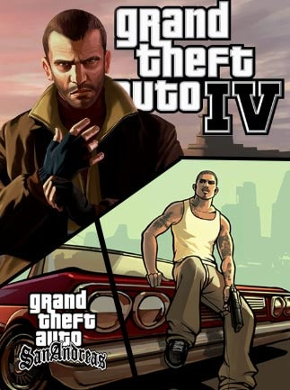 Grand Theft Auto IV + Grand Theft Auto: San Andreas Steam Gift GLOBAL - gameplay - 2
