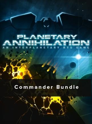 Planetary Annihilation - Digital Deluxe Commander Bundle Steam Key GLOBAL -  G2A COM