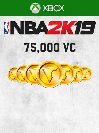 NBA 2K19 Virtual Currency (Xbox One) 75 000 Coins - Xbox Live Key - GLOBAL