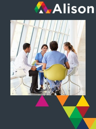 Managing Health and Safety in Healthcare - Legislation and Risk Assessment Alison Course GLOBAL - Digital Certificate - box