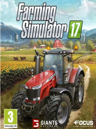 Farming Simulator 17 GIANTS Key GLOBAL - box