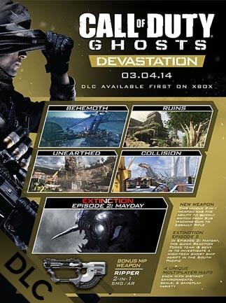 Call of Duty: Ghosts - Devastation Steam Gift GLOBAL