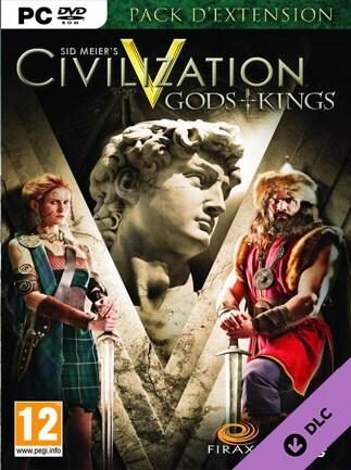 Sid Meier's Civilization V Gods and Kings Key Steam MAC GLOBAL
