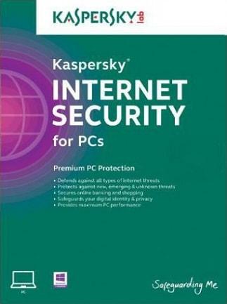 Kaspersky Internet Security 1 Device GLOBAL Key PC Kaspersky 6 Months - box