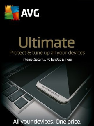 AVG Ultimate - Unlimited Devices 2 Years AVG Key GLOBAL