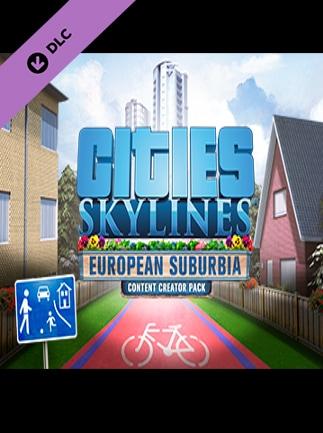 Cities: Skylines - Content Creator Pack: European Suburbia DLC Steam Key GLOBAL