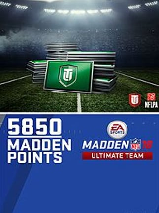 Madden NFL 18 Ultimate Team XBOX ONE 5 850 Points XBOX LIVE Key NORTH AMERICA