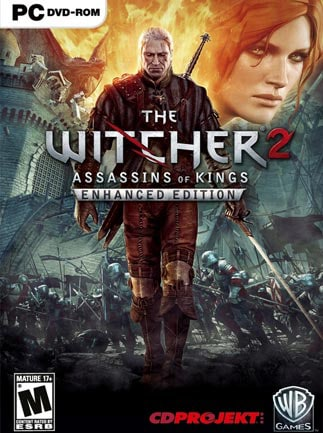The Witcher 2 Assassins of Kings Enhanced Edition Steam Key GLOBAL - box