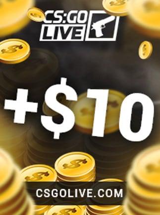 CSGOLive 10 USD Key