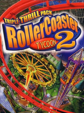 RollerCoaster Tycoon 2: Triple Thrill Pack Steam Key GLOBAL - box