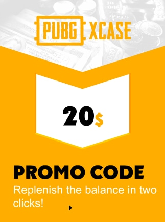 PubgXcase Gift Card 20 USD Code